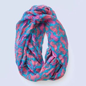 Lilly Pulitzer seahorse scarf